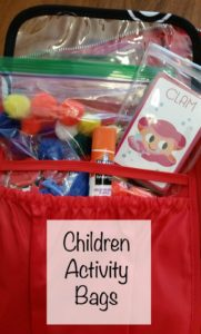 childrens activity bag for travel