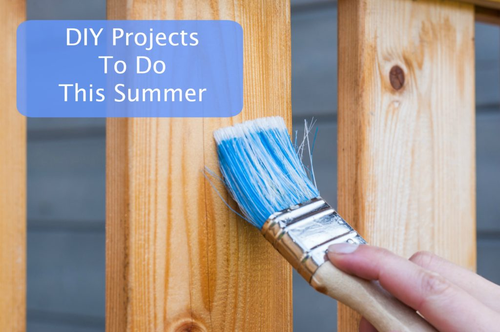 DIY projects to do this summer